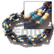 5 rows coco pokalet color combination bracelets