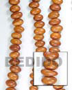 bayong oval nuggets wood beads
